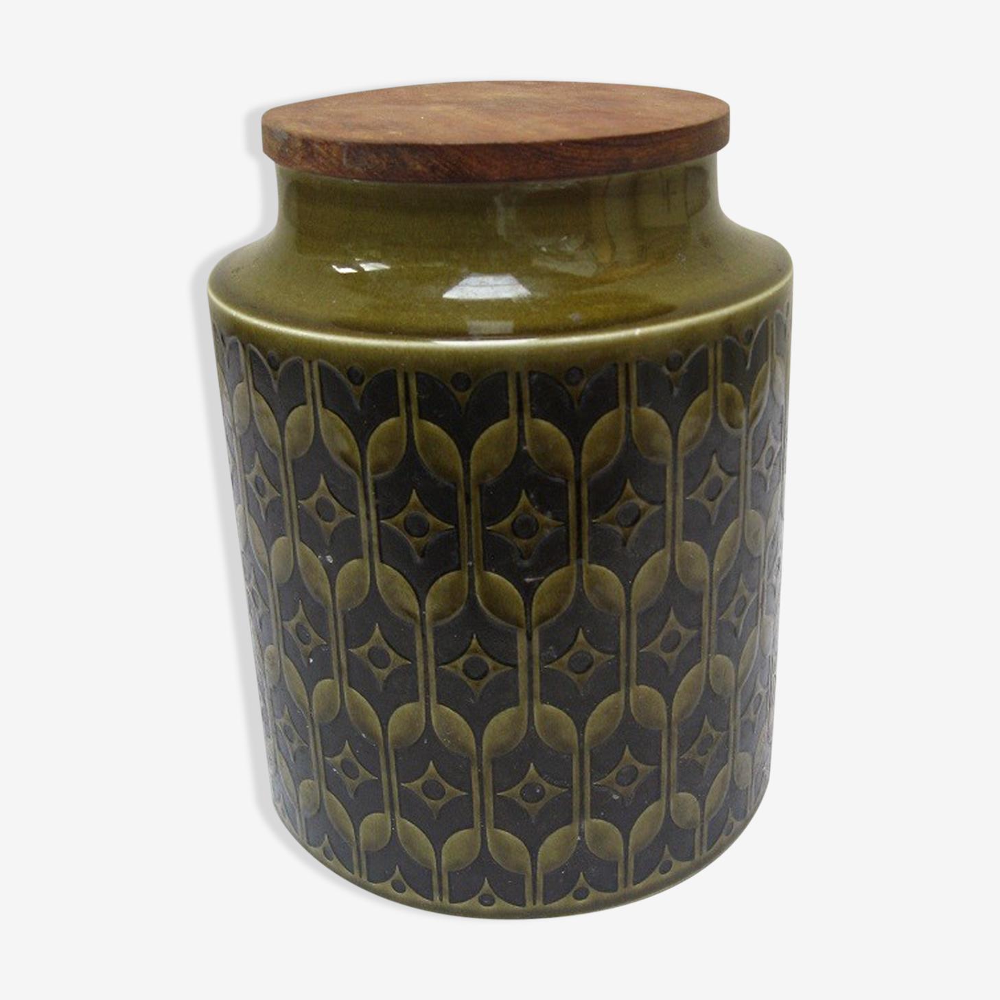 Pot couvert céramique anglaise 70s