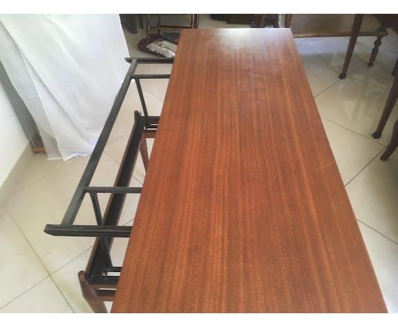 Table basse de style scandinave transformable  en table de salle à manger