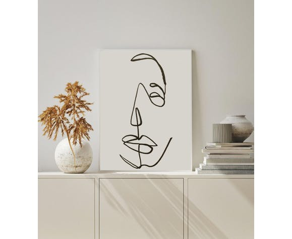 Homme abstrait