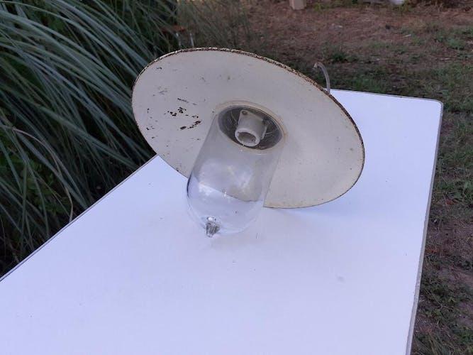 Lampe  col de cygne pour l'extérieur