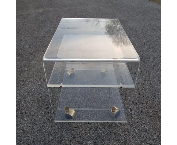 Meuble TV en plexiglass