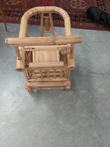 Fauteuil d'enfant en bambou