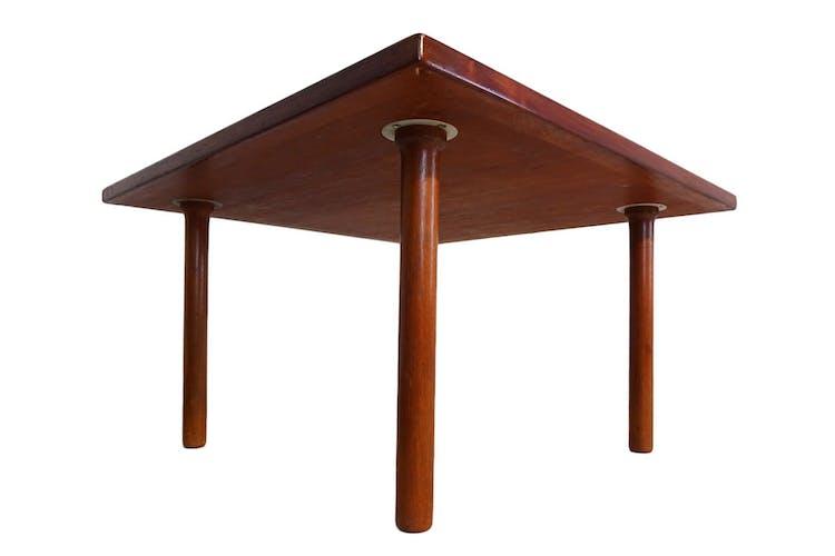 Table basse en teck par Hans J. Wegner pour Andreas Tuck 1950