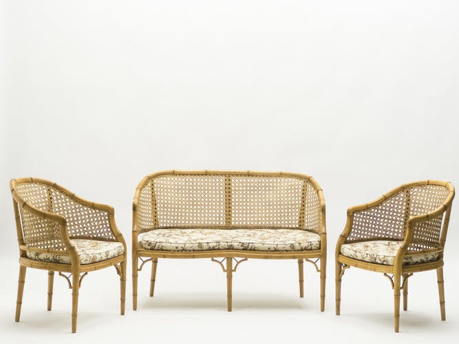 Set of French riviera lounge, 1960s