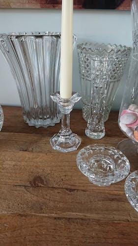 Bougeoir en cristal Villeroy et Boch