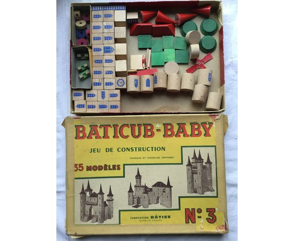 Jeu de construction Baticub-baby