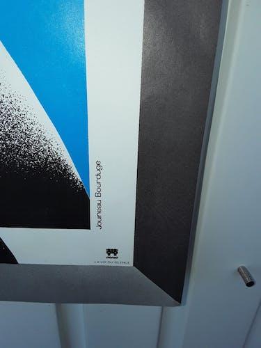 """Affiche """"La loi du silence"""" Alfred Hitchcock 1952 - 40x60cm"""