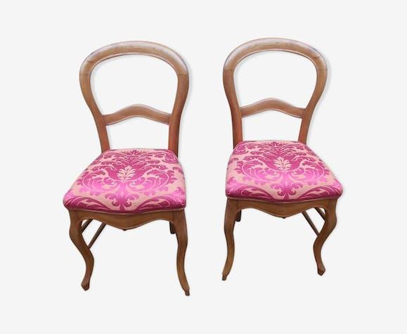 Paire de chaises Louis Philippe