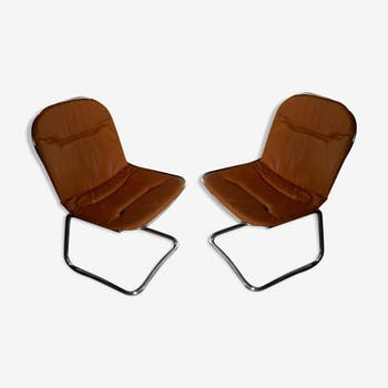 Pair of 60s vintage chairs