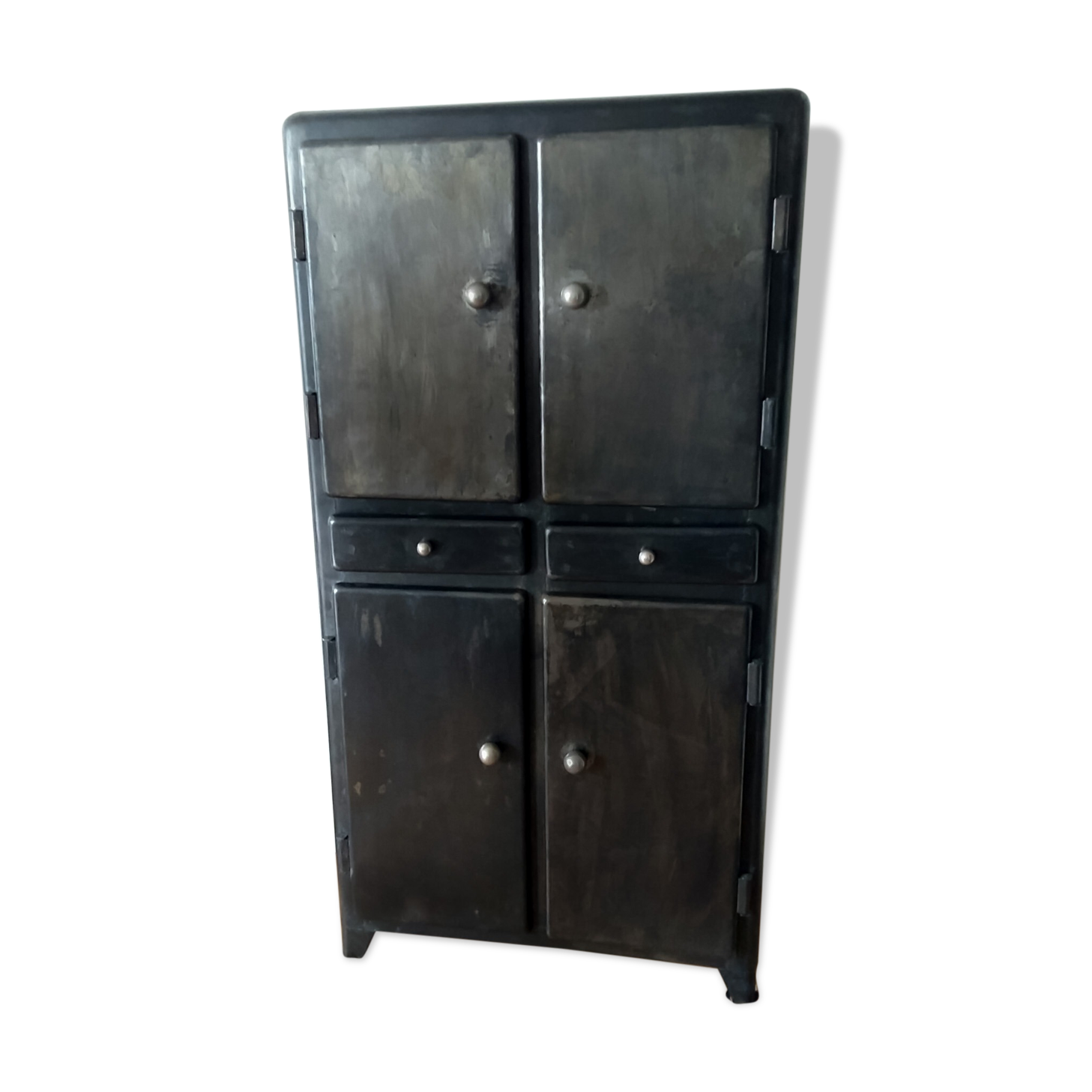 meuble cuisine en metal cheap meuble haut cuisine with meuble cuisine en metal meubles sur. Black Bedroom Furniture Sets. Home Design Ideas