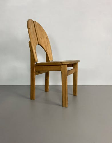 Chaise en pin, Allemagne, vers 1980