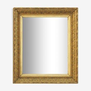 Golden mirror  68x79cm
