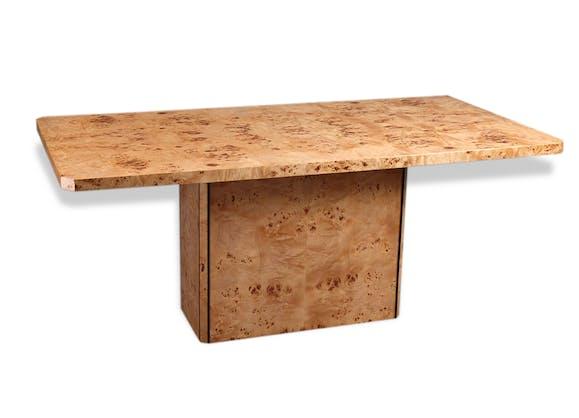table en placage de loupe d 39 orme bois mat riau design 38162. Black Bedroom Furniture Sets. Home Design Ideas