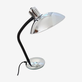 Lampe de bureau chromée des années 70
