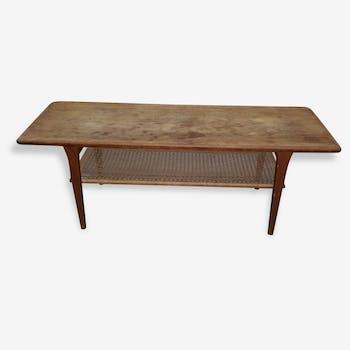 Scandinavian design teak coffee table Kurt Østervig