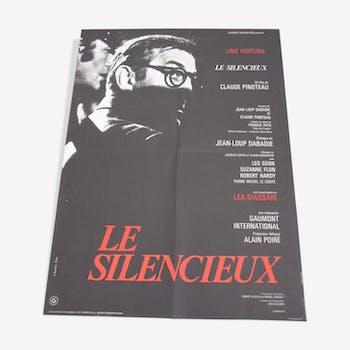 Affiche le silencieux