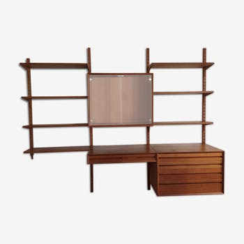 Poul Cadovius teaeck wall shelf
