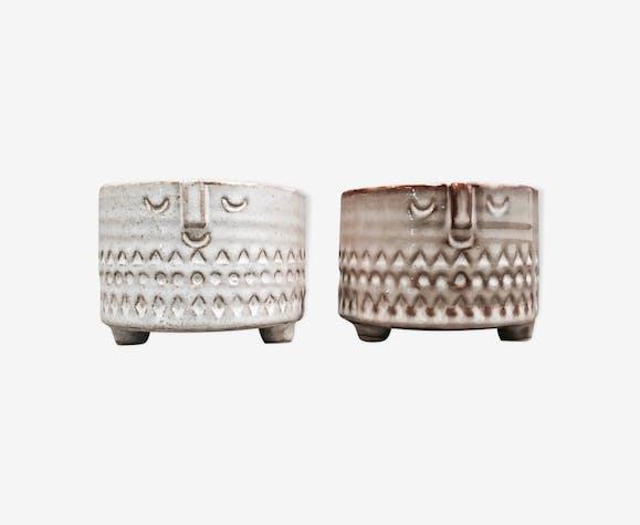 Céramiques beiges design scandinave