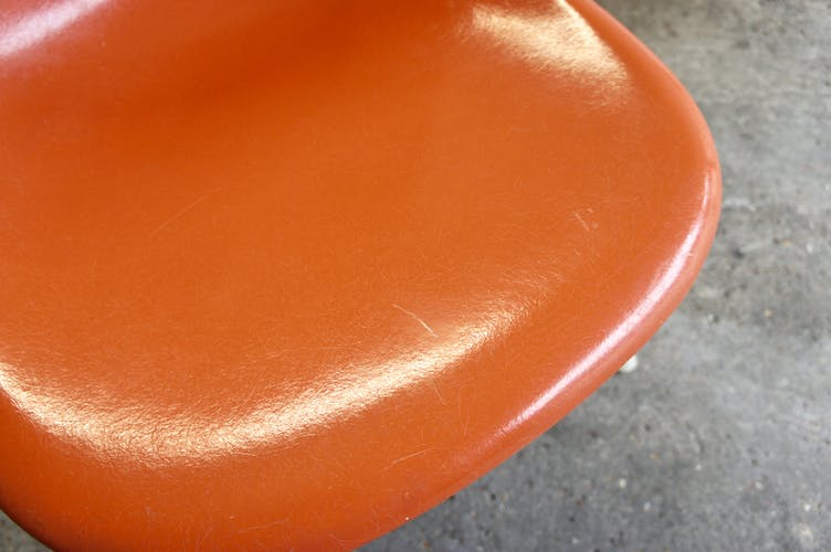 Pair de chaises DSS par Charles et Ray Eames pour Herman Miller 1976