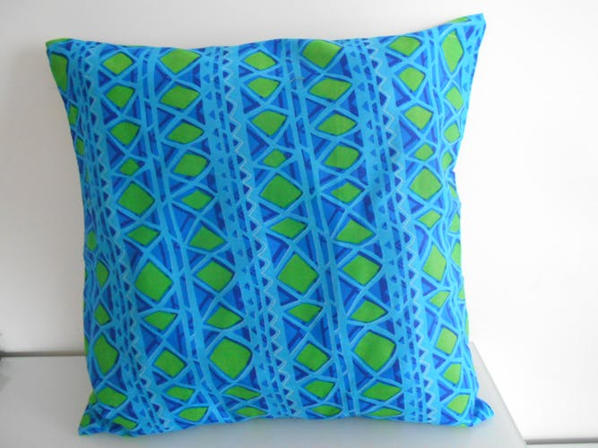 Wax cushion cover 50 cm x 50 cm