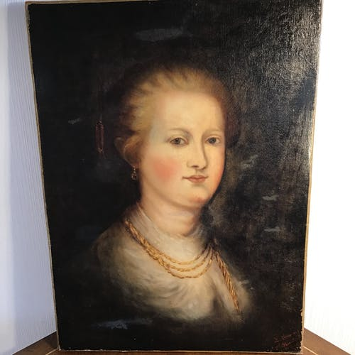 Tableau portrait de femme