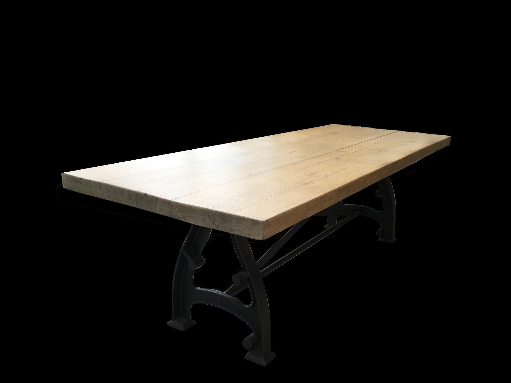 Table En Chêne Style Industriel Salle à Manger