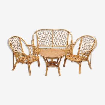 Best Salon De Jardin En Rotin Ancien Ideas - House Design ...
