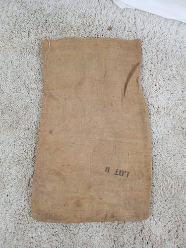 Bag burlap canvas Michigan Navy Beans