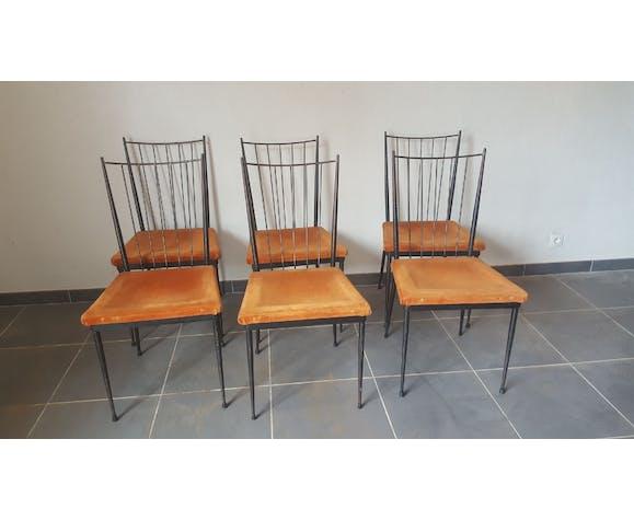 Série de 6 chaises Colette Gueden