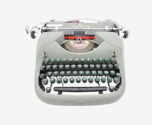 Machine à écrire MJ Rooy modèle IN Kaki Army 1955