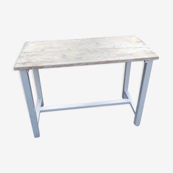 Dessert wooden table