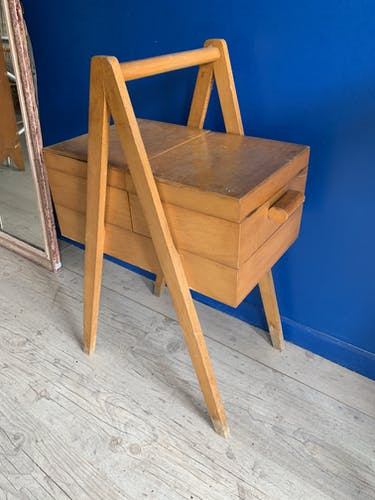 Former sewing basket  1950