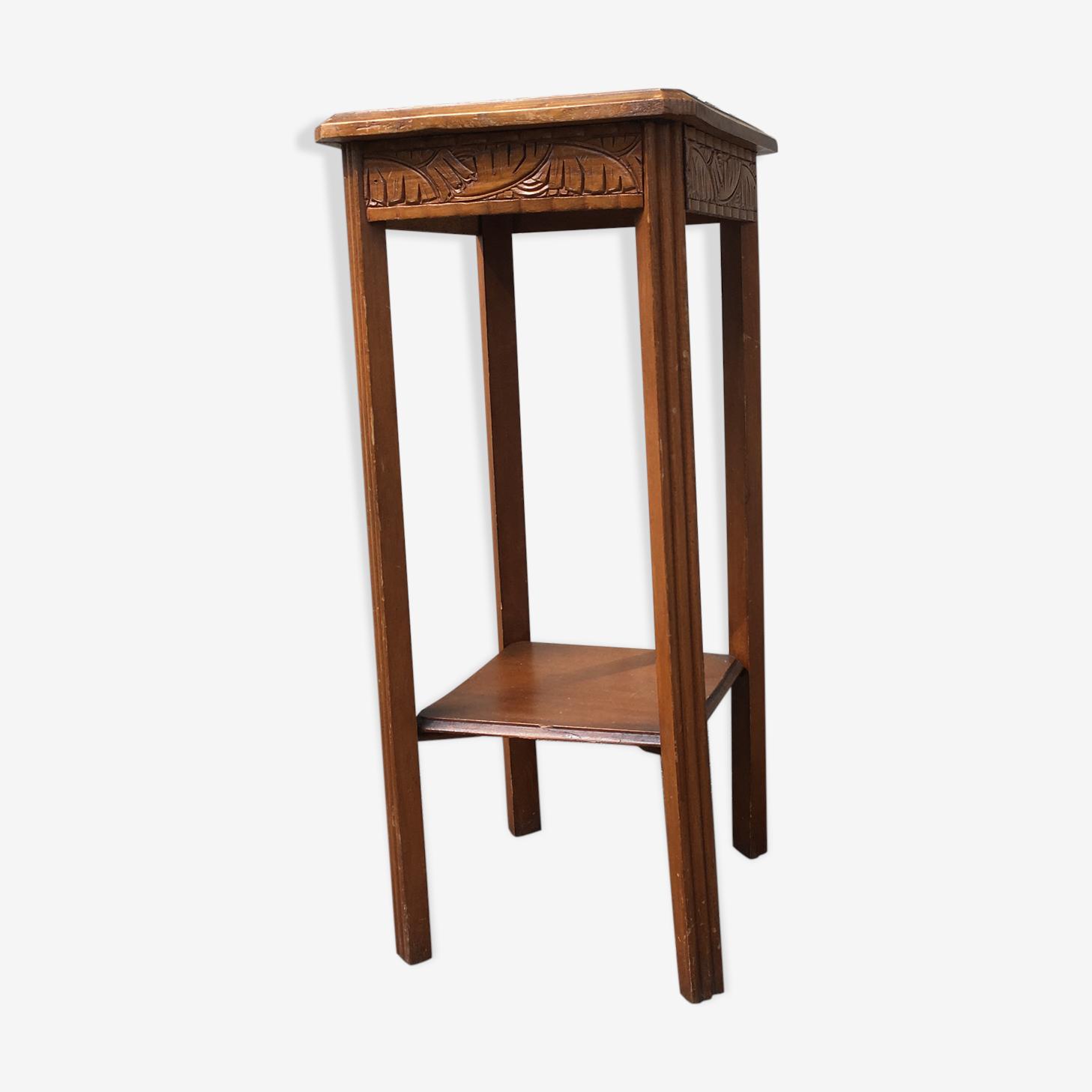 Sellette ou table d'appoint en bois art deco