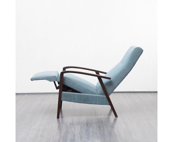 Fauteuil relax années 60, vintage, refait à neuf