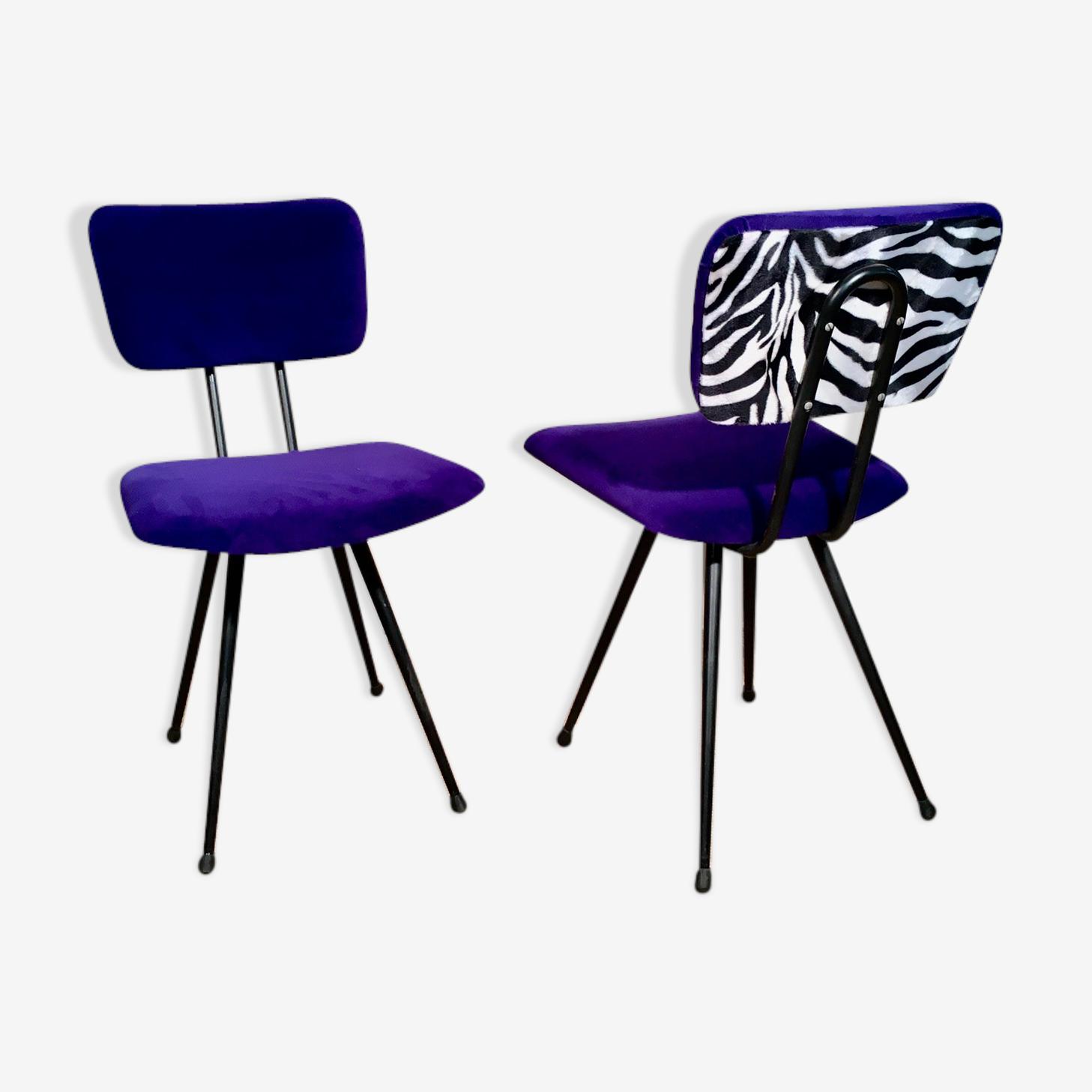 Duo de chaises Stella vers 1950