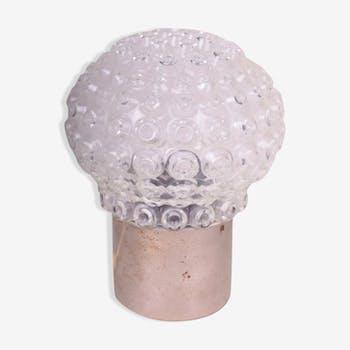 Design glass lamp