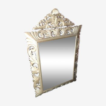 Mirror wooden gold time Napoleon III 121 x 78 cm