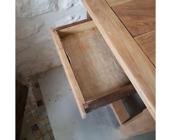 Table de ferme restaurée