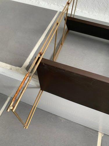 Étagère string métal vintage