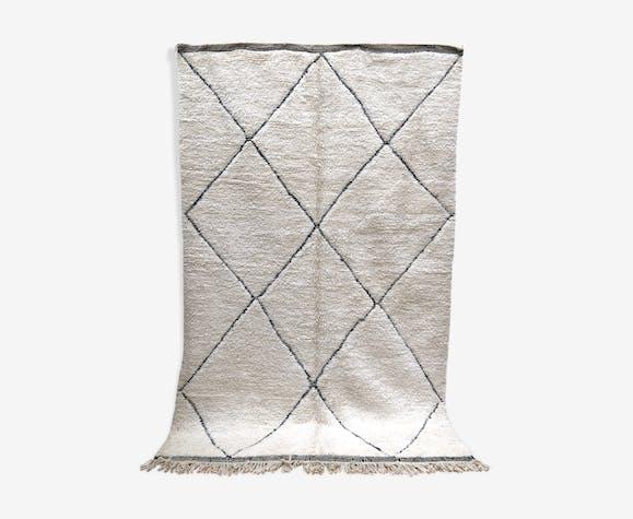 Tapis berbère marocain beni ouarain 305x193cm