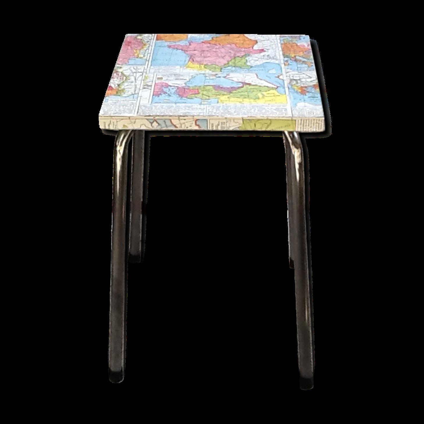 Tabouret de bar patchwork top mignon chaise scandinave - Chaise patchwork alinea ...