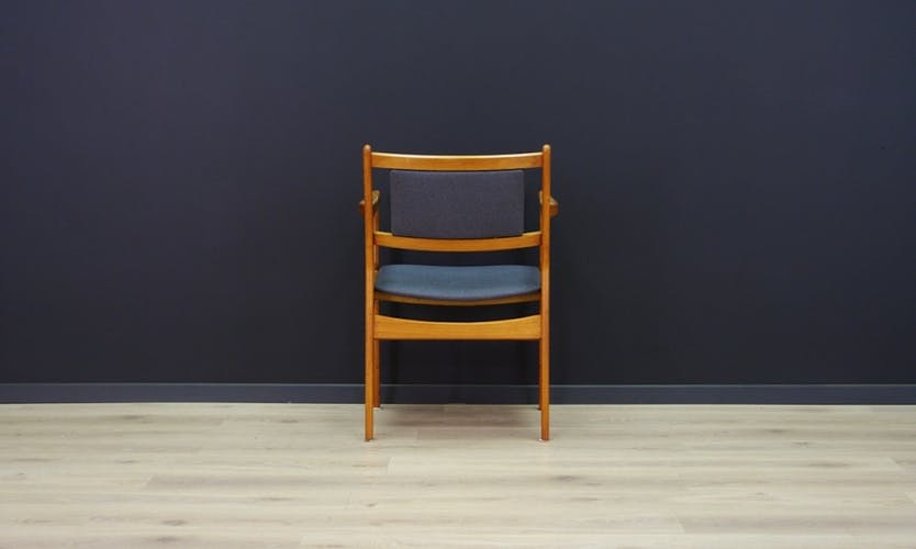 Armchair teak vintage retro danish design