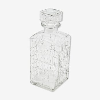 Glass whisky carafe