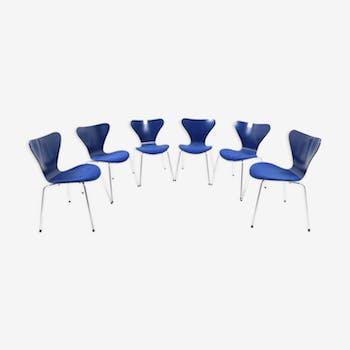 Chaises par Arne Jacobsen édition Fritz Hansen