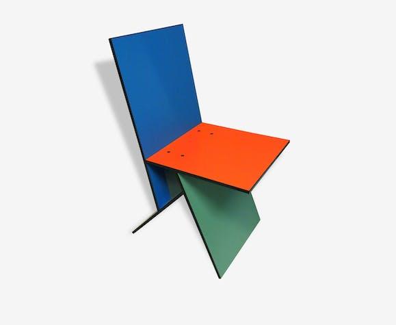 chaise vilbert de verner panton dition ikea 1993 bois. Black Bedroom Furniture Sets. Home Design Ideas