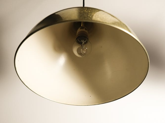 Pair of hanging lamps by Jo Hammerborg for Fog & Mørup