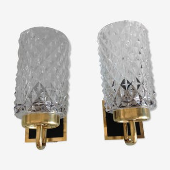 Pair of wall lights - 60s/70s