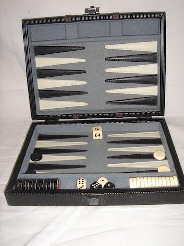 Jeu de backgammon, 1970