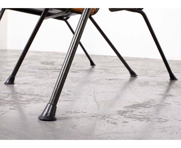 Paire de fauteuils Gispen 1409 par André Cordemeijer en 1959 pour Gispen