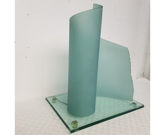 Lamp glass Patrick Desserme  1988